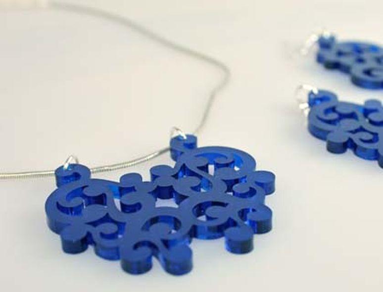 برش لیزر جواهرات
